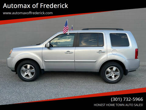 2011 Honda Pilot for sale at Automax of Frederick in Frederick MD