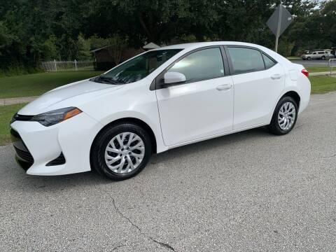 2019 Toyota Corolla for sale at P J Auto Trading Inc in Orlando FL
