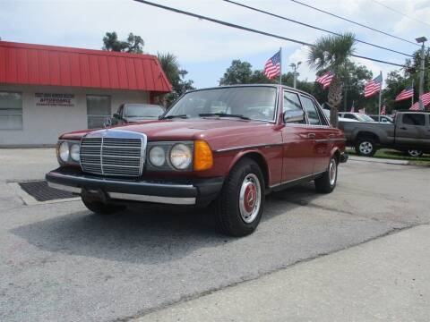 1977 Mercedes-Benz 300-Class for sale at Affordable Auto Motors in Jacksonville FL