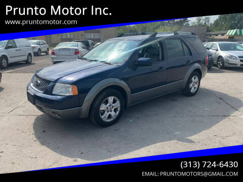 2006 Ford Freestyle for sale at Prunto Motor Inc. in Dearborn MI