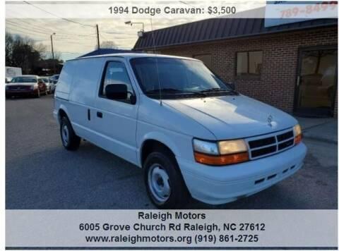 1994 Dodge Caravan for sale at Raleigh Motors in Raleigh NC