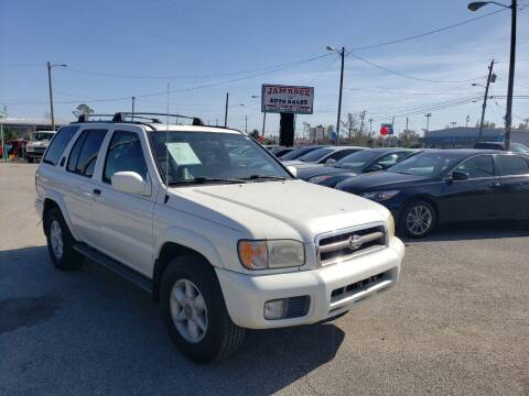 2000 Nissan Pathfinder for sale at Jamrock Auto Sales of Panama City in Panama City FL