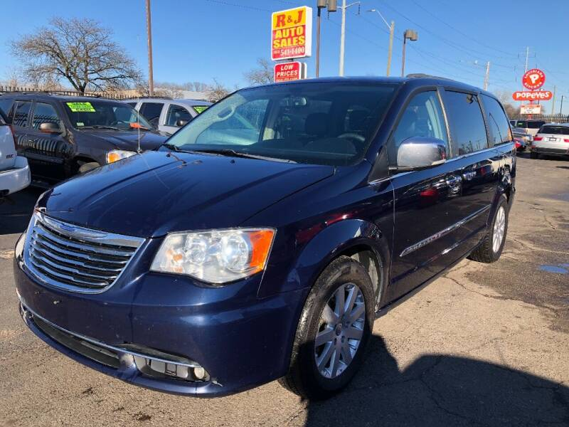 2012 Chrysler Town and Country for sale at RJ AUTO SALES in Detroit MI
