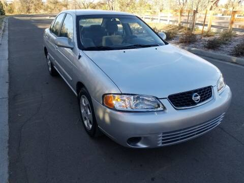 2003 Nissan Sentra for sale at Red Rock's Autos in Denver CO
