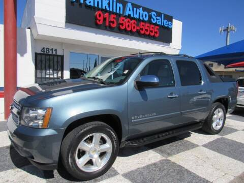 2008 Chevrolet Avalanche for sale at Franklin Auto Sales in El Paso TX