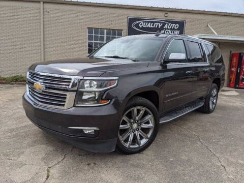 2015 Chevrolet Suburban for sale at Quality Auto of Collins in Collins MS