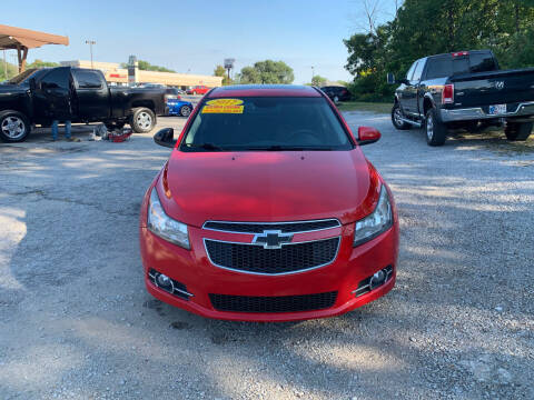 2012 Chevrolet Cruze for sale at Community Auto Brokers in Crown Point IN