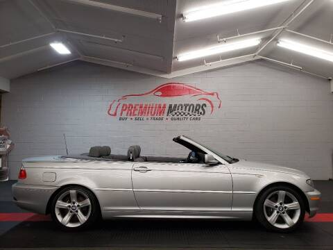 2004 BMW 3 Series for sale at Premium Motors in Villa Park IL