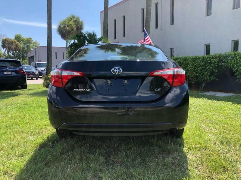 2016 Toyota Corolla LE 4dr Sedan - Miami FL