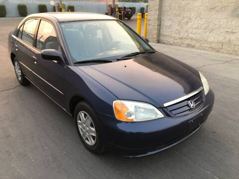 2003 Honda Civic for sale at Fast Lane Motors in Turlock CA