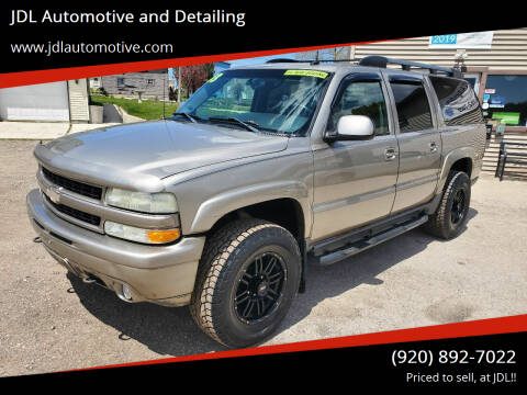 2003 Chevrolet Suburban for sale at JDL Automotive and Detailing in Plymouth WI