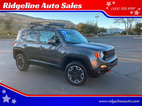 2017 Jeep Renegade for sale at Ridgeline Auto Sales in Saint George UT
