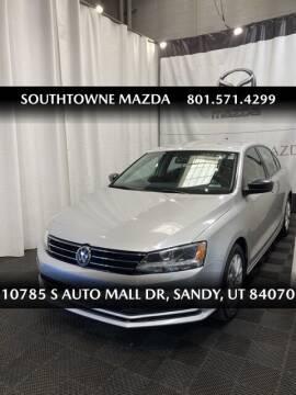 2015 Volkswagen Jetta for sale at Southtowne Mazda of Sandy in Sandy UT