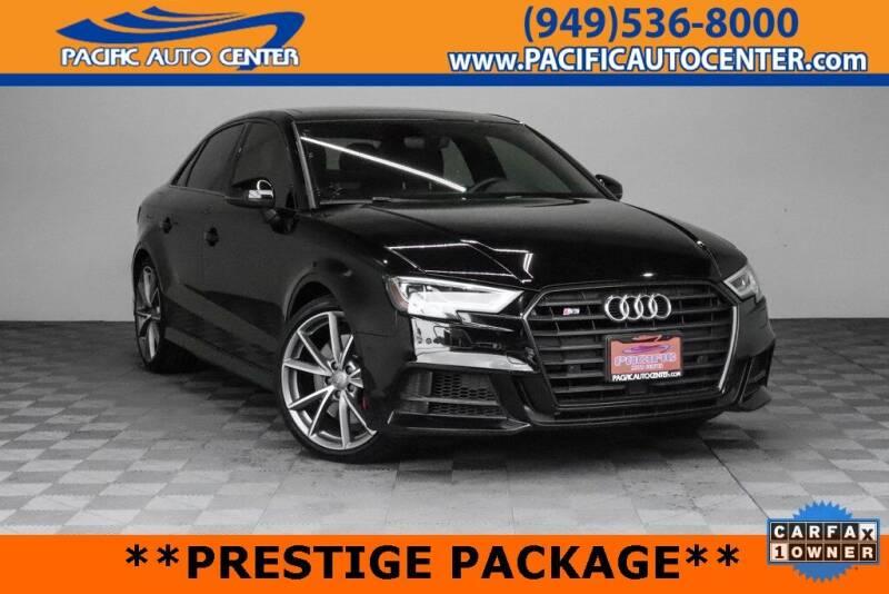 2018 Audi S3 for sale in Fontana, CA