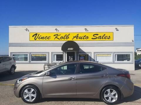 2016 Hyundai Elantra for sale at Vince Kolb Auto Sales in Lake Ozark MO