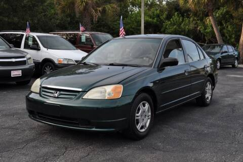 2001 Honda Civic for sale at STEPANEK'S AUTO SALES & SERVICE INC. in Vero Beach FL