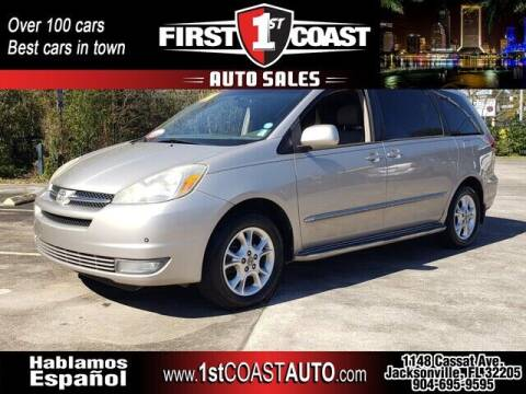2004 Toyota Sienna for sale at 1st Coast Auto -Cassat Avenue in Jacksonville FL