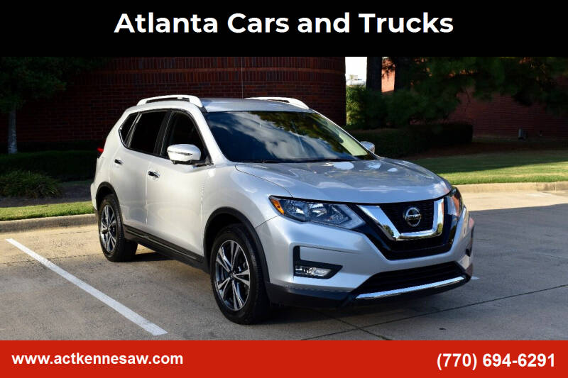 2018 Nissan Rogue for sale at Atlanta Cars and Trucks in Kennesaw GA