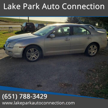 2009 Ford Fusion for sale at Lake Park Auto Connection in Lake Park MN