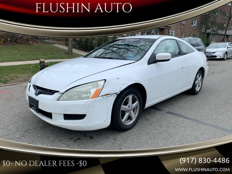 2005 Honda Accord for sale at FLUSHIN AUTO in Flushing NY