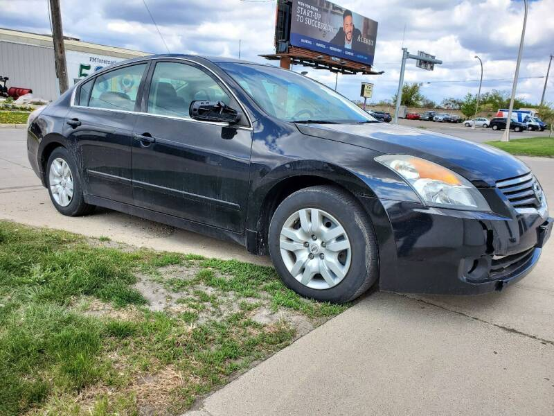 2009 Nissan Altima for sale at GOOD NEWS AUTO SALES in Fargo ND