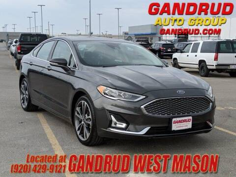 2019 Ford Fusion for sale at GANDRUD CHEVROLET in Green Bay WI