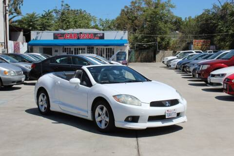 2009 Mitsubishi Eclipse Spyder for sale at Car 1234 inc in El Cajon CA