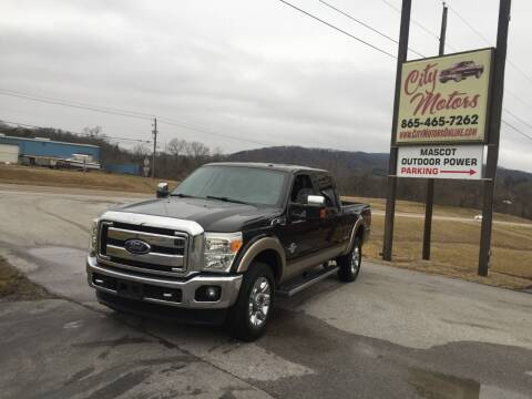 2013 Ford F-350 Super Duty for sale at City Motors in Mascot TN