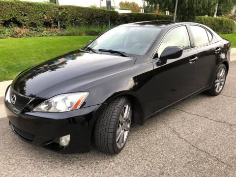 2008 Lexus IS 250 for sale at Donada  Group Inc in Arleta CA