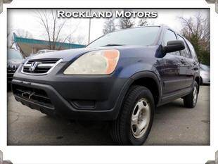 2002 Honda CR-V for sale at Rockland Automall - Rockland Motors in West Nyack NY