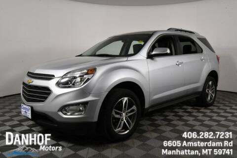 2017 Chevrolet Equinox for sale at Danhof Motors in Manhattan MT