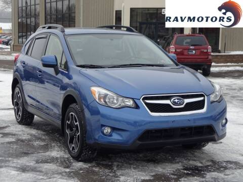 2014 Subaru XV Crosstrek for sale at RAVMOTORS 2 in Crystal MN
