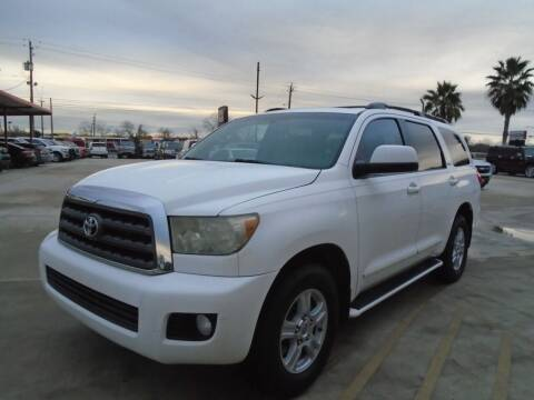 2008 Toyota Sequoia for sale at Premier Foreign Domestic Cars in Houston TX