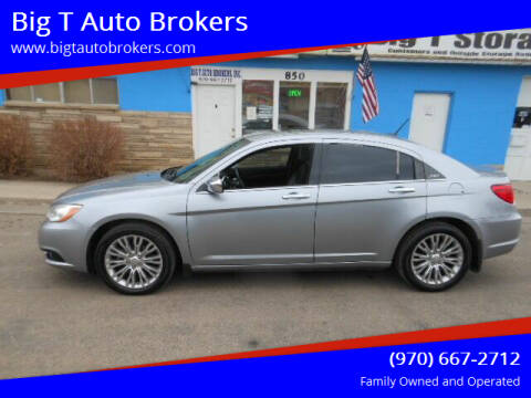 2013 Chrysler 200 for sale at Big T Auto Brokers in Loveland CO