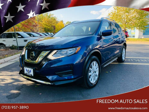 2020 Nissan Rogue for sale at Freedom Auto Sales in Chantilly VA