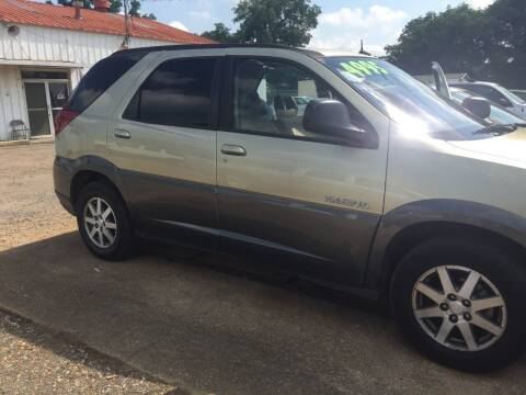 2003 Buick Rendezvous for sale at B & B CARS llc in Bossier City LA