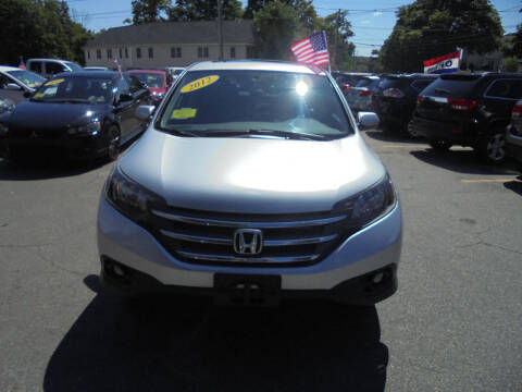 2012 Honda CR-V for sale at Washington Street Auto Sales in Canton MA