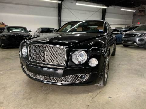 2012 Bentley Mulsanne for sale at PARK PLACE AUTO SALES in Houston TX