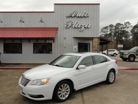 2013 Chrysler 200 for sale at Grantz Auto Plaza LLC in Lumberton TX