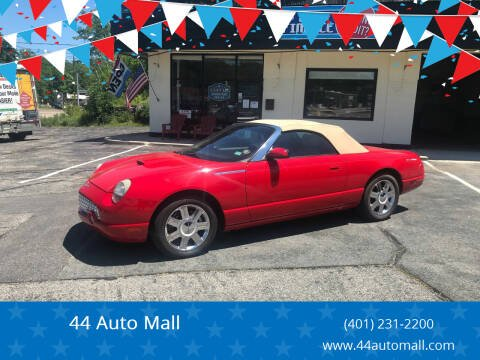 2005 Ford Thunderbird for sale at 44 Auto Mall in Smithfield RI