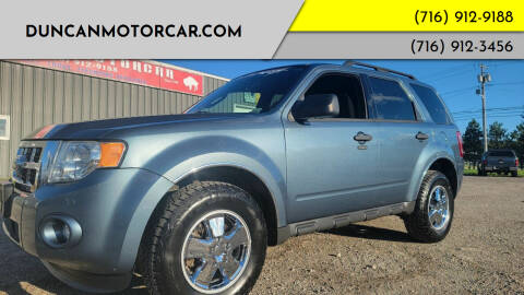 2012 Ford Escape for sale at DuncanMotorcar.com in Buffalo NY