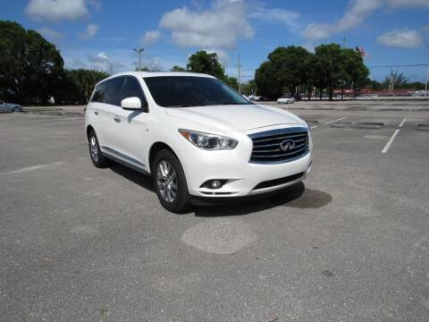 2015 Infiniti QX60 for sale at United Auto Center in Davie FL