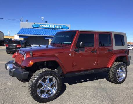 2008 Jeep Wrangler Unlimited for sale at SPEND-LESS AUTO in Kingman AZ