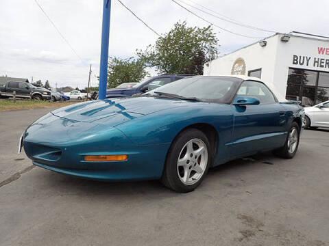 1995 Pontiac Firebird for sale at Tommy's 9th Street Auto Sales in Walla Walla WA