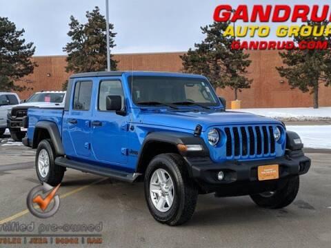 2020 Jeep Gladiator for sale at Gandrud Dodge in Green Bay WI