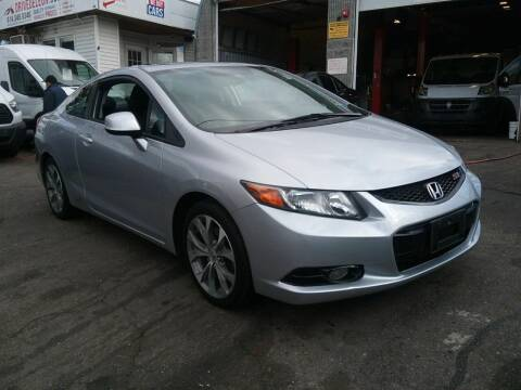 2012 Honda Civic for sale at Drive Deleon in Yonkers NY