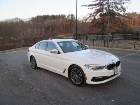 2017 BMW 5 Series for sale at Tri Town Truck Sales LLC in Watertown CT