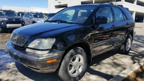 2000 Lexus RX 300 for sale at John 3:16 Motors in San Antonio TX