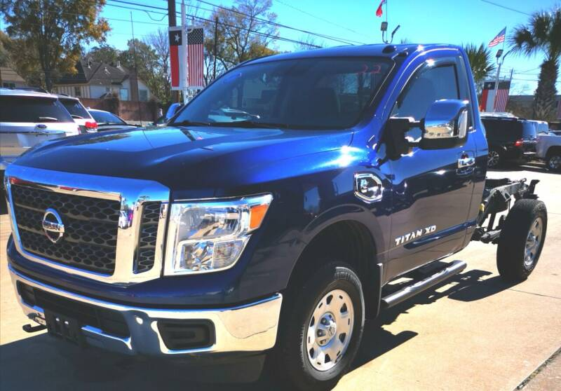 2017 Nissan Titan XD for sale at Car Ex Auto Sales in Houston TX