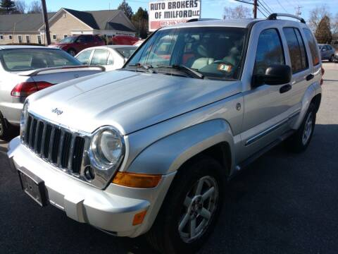 2006 Jeep Liberty for sale at Auto Brokers of Milford in Milford NH
